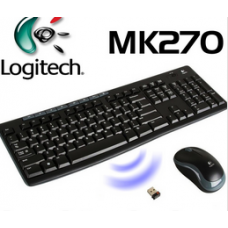 50) Logitech mk270 Wireless (Trådlös)